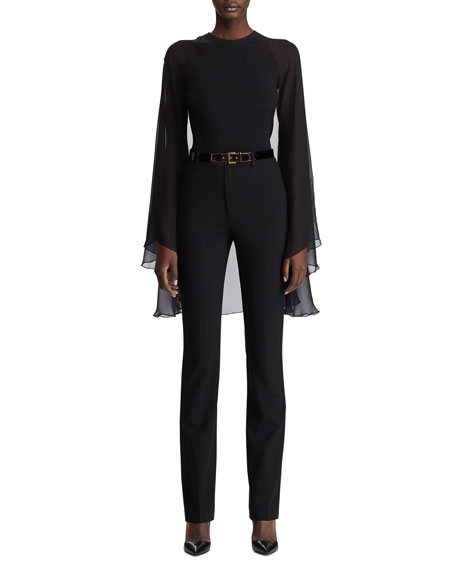 Ralph Lauren Collection Scarlette Stretch Wool Pants