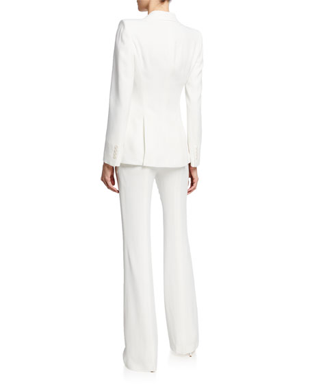 Alexander McQueen Classic Double-Breasted Suiting Blazer