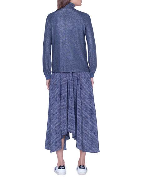 Akris Shimmer Knit Parka