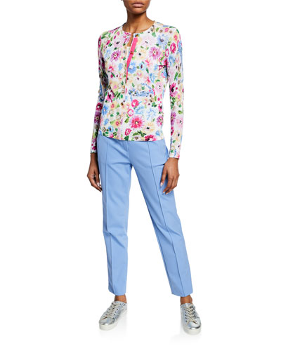 Garden Floral Print Cardigan  and Matching Items