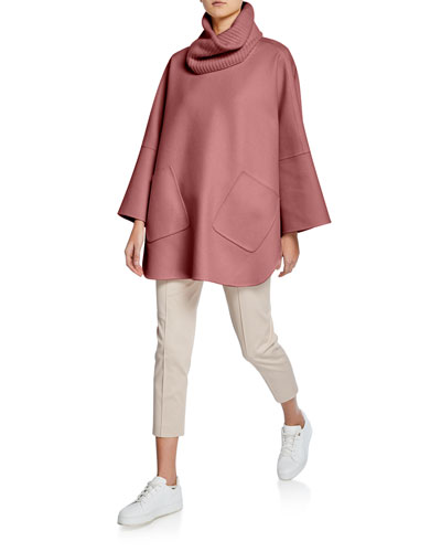 Cashmere Cowl Neck Jacket and Matching Items
