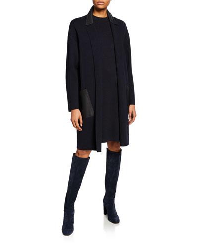 Short-Sleeve Sheath Dress and Matching Items