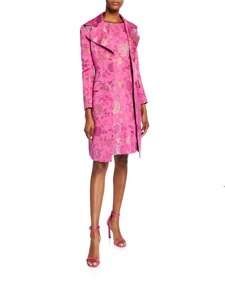 Etro Floral Brocade Topper Jacket