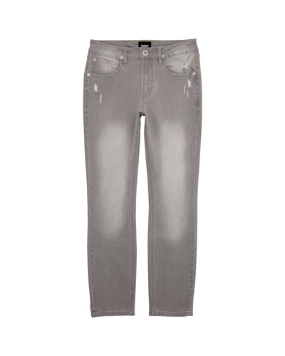 Boys' Jagger Slim Stress Faded & Distressed Pants  Size 8-14  and Matching Items