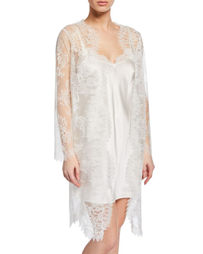 Art et Volupte Short Lace Robe and Matching Items