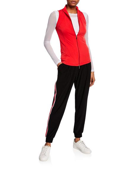 Anatomie Liela Zip-Front Jersey Vest