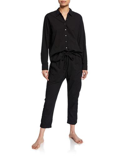 Beau Long-Sleeve Lounge Shirt and Matching Items