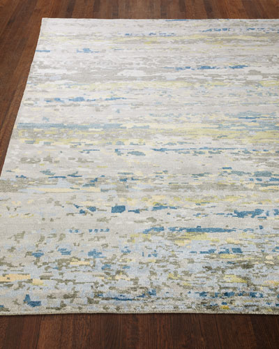 Ian Hand-Knotted Rug  10' x 14'  and Matching Items