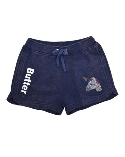 Crystal Unicorn Varsity Shorts  Size 4-6  and Matching Items