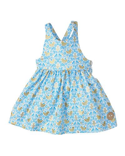 Golden Chickadee Sleeveless Dress  Size 18M-6 and Matching Items