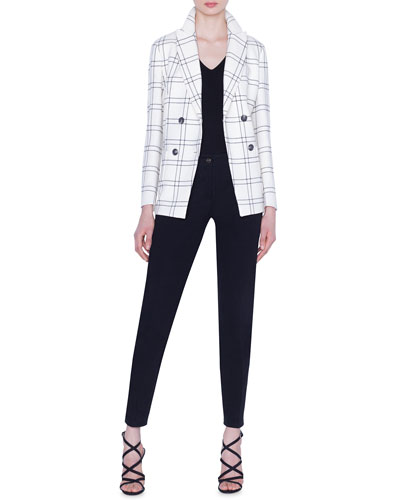 Danita Check Wool Crepe Jacket and Matching Items
