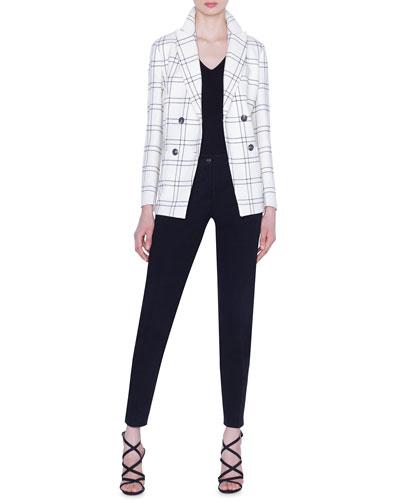 Danita Check Wool Crepe Jacket and Matching Items