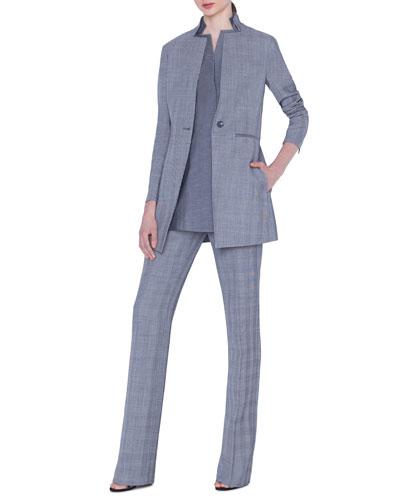 Dalma Check Wool Jacket and Matching Items