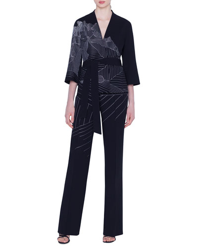 Cherelle Swiss-Mountain Embroidered Jacket and Matching Items