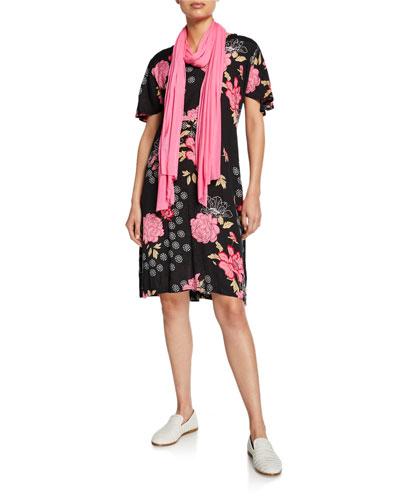 Nema Floral-Print Short-Sleeve Dress and Matching Items