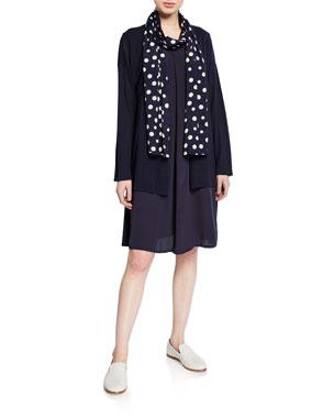 bffa54293d6 Masai Latifa Long-Sleeve Cotton Cardigan Harper Sleeveless Tunic Dress w/  Cutout-Back