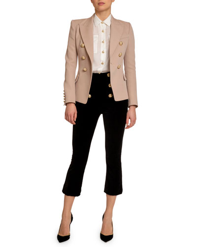Classic 6-Button Blazer  Light Pink and Matching Items