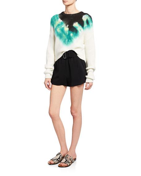 A.L.C. Elinor Tie-Dye Crewneck Sweater