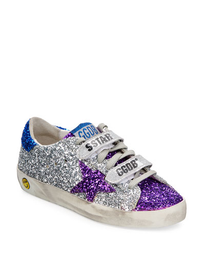 Old School Glitter Sneakers  Baby/Toddler  and Matching Items