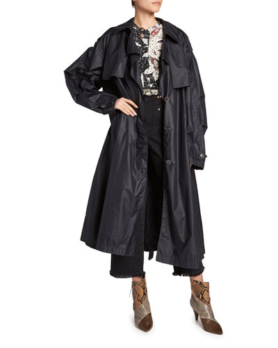 Clem Lightweight Trench Coat and Matching Items