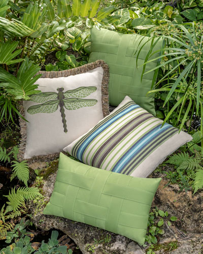 Multi-Stripe Sunbrella Pillow  and Matching Items