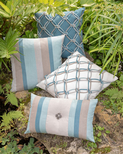 Colorblock Sunbrella Pillow  and Matching Items