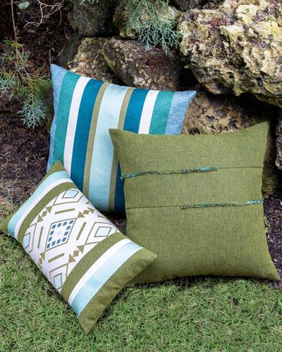Cusco Lumbar Sunbrella Pillow  and Matching Items