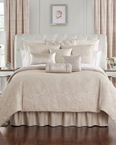 Gisella 4-Piece Reversible King Comforter Set  and Matching Items