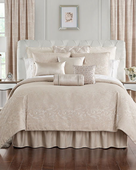 Waterford Gisella 4-Piece Reversible King Comforter Set