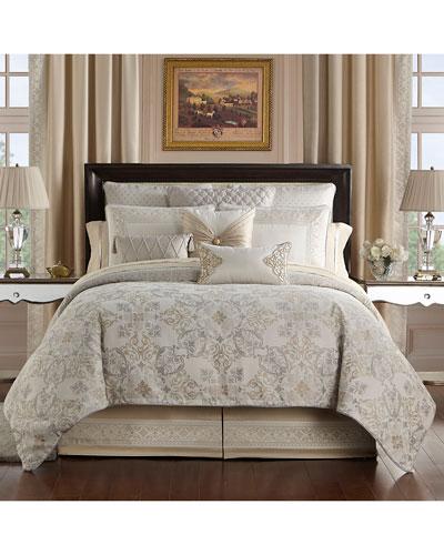 Shelah Reversible 4-Piece King Comforter Set  and Matching Items