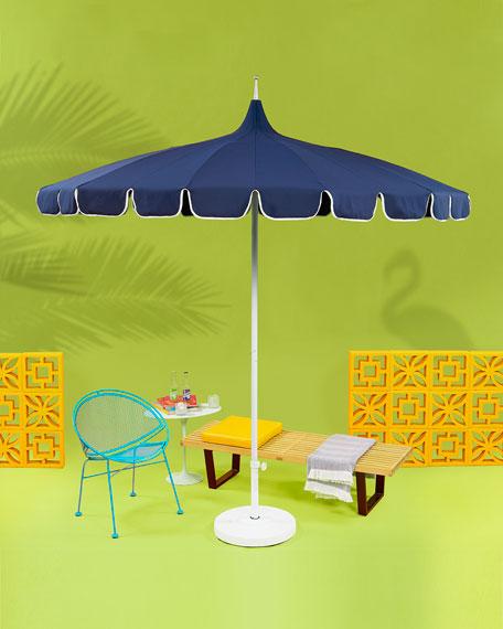 California Umbrella Umbrella Stand with Steel Cover, 50 lbs.