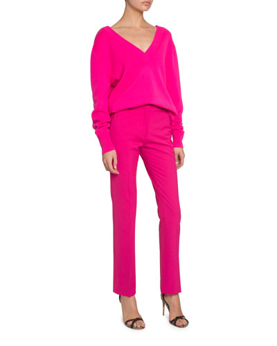 Cashmere V-Neck Jumper and Matching Items