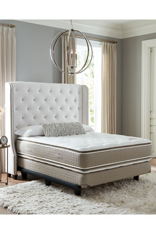 Shifman Mattress Saint Michele Villa Rosa Collection California King Mattress & Box Spring Set Saint Michele Villa Rosa Collection Full Mattress & Box Spring Set Saint Michele Villa Rosa Collection Queen Mattress & Box Spring Set
