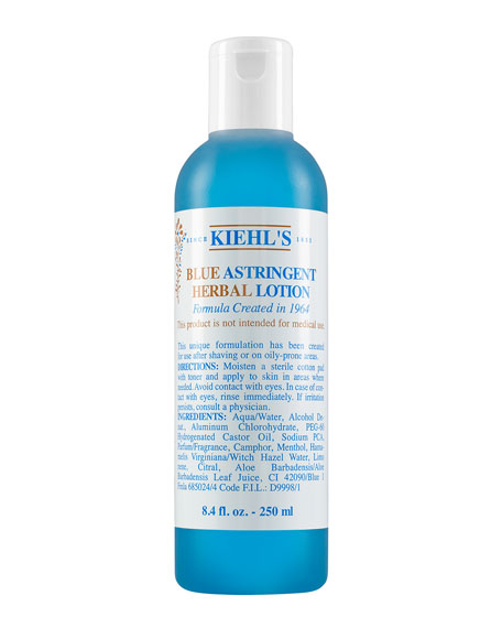 Blue Astringent Herbal Lotion, 8.4oz