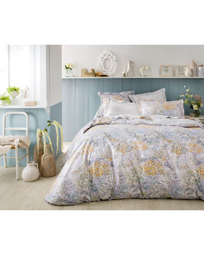 Bouquet King Duvet Cover  and Matching Items