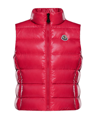 Ghany Quilted Zip-Front Vest  Size 8-14  and Matching Items