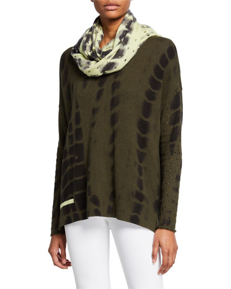 Lisa Todd To Dye For V-Neck Cotton/Cashmere Sweater