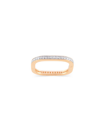 TV 18k Rose Gold Diamond Ring  Size 6 and Matching Items