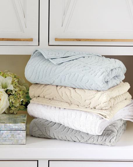SFERRA Diamond Weave Washcloth