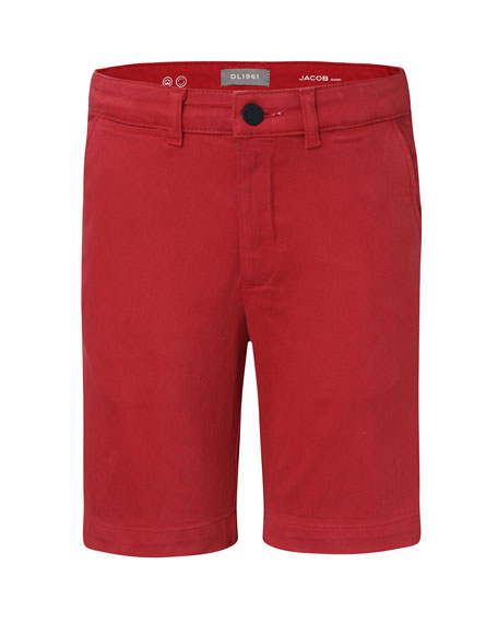 DL1961 Premium Denim Boys' Jacob Chino Shorts, Size 2-7
