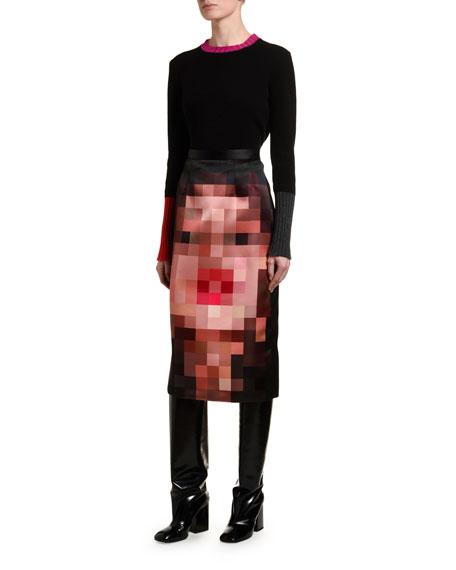 Marni Cashmere Contrast-Trim Sweater
