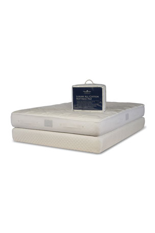 Royal-Pedic Luxury All Cotton Mattress Pad - California King Luxury All Cotton Mattress Pad - King