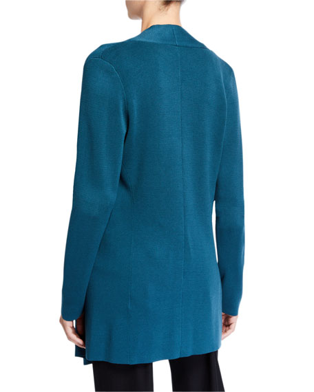 Eileen Fisher Open Interlock Jacket