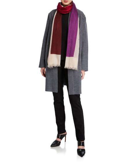 Eileen Fisher Lightweight Boiled Wool Jacket