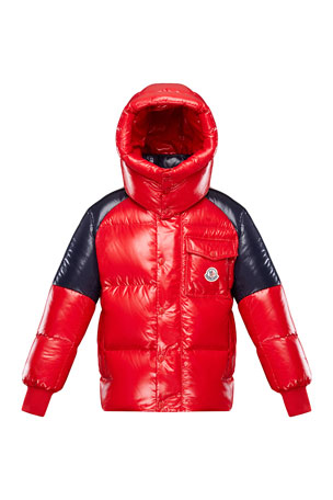 Moncler Jackets & Coats for Kids at Neiman Marcus