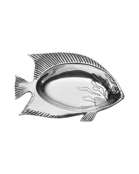 Wilton Armetale Sea Light Small Fish Bowl