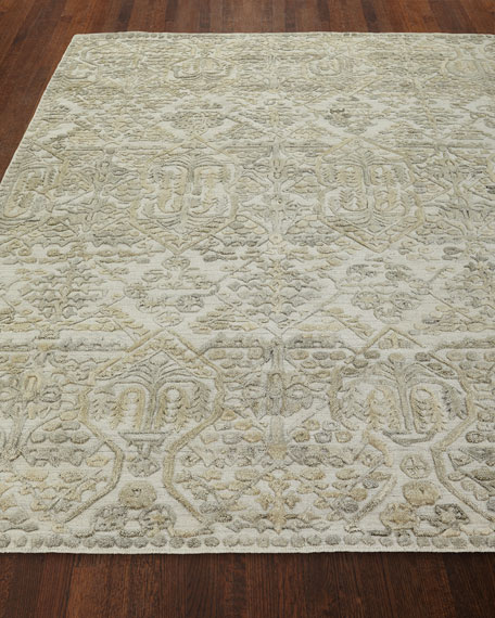 Demings Hand Loomed Rug, 10' x 14'