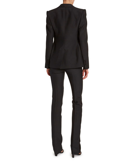 TOM FORD Satin-Trim Wool Tuxedo Jacket