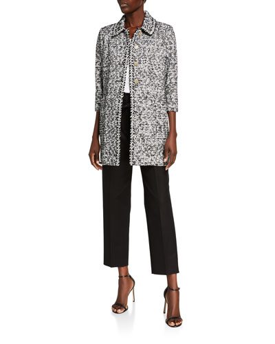 Modern Statement 3/4-Sleeve Jacket and Matching Items