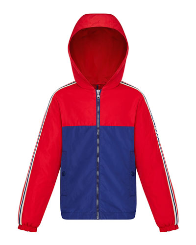 Boy's Gittaz Two-Tone Logo Tape Jacket and Matching Items